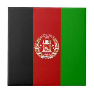 Afghanistan Flag Tile
