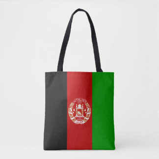 Afghanistan Flag Tote Bag
