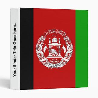 Afghanistan High quality Flag Binders