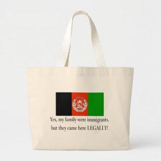 Afghanistan Jumbo Tote Bag