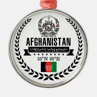 Afghanistan Metal Ornament