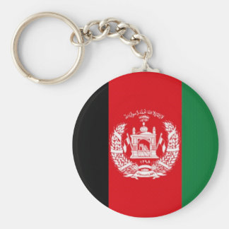 Afghanistan National Flag Keychain