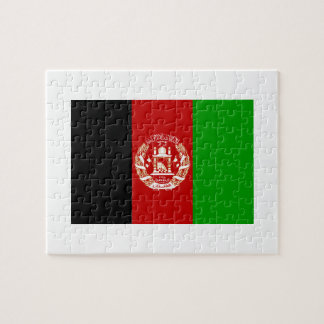 Afghanistan National World Flag Jigsaw Puzzle