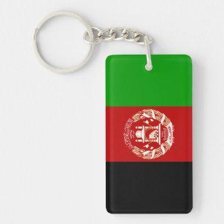 Afghanistan National World Flag Keychain