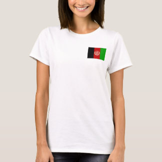 Afghanistan National World Flag T-Shirt