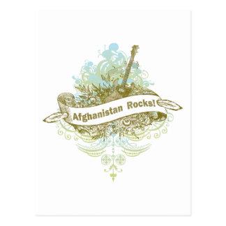 Afghanistan Rocks Postcard