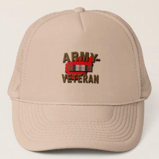 Afghanistan Service Ribbon Trucker Hat