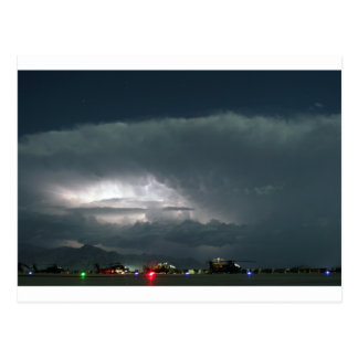 AFGHANISTAN THUNDERSTORM WEATHER POSTCARD
