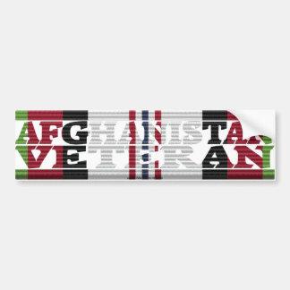 Afghanistan Veteran ACM Ribbon Bumper Sticker