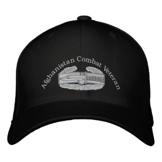 Afghanistan Veteran Combat Action Badge Hat