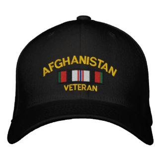 Afghanistan Veteran Embroidered Hat