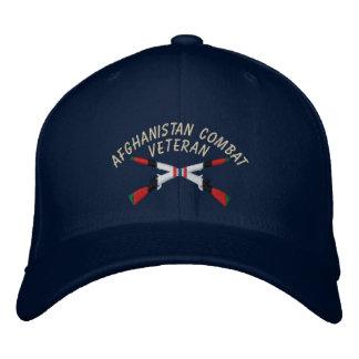 Afghanistan Veteran Infantry Crossed Rifles Hat Embroidered Hats