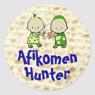 Afikomen Hunter Stickers