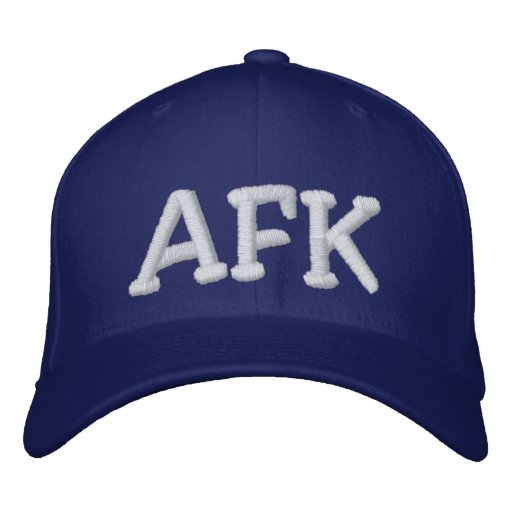 AFK EMBROIDERED HAT