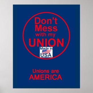 AFL UNION POSTER Print