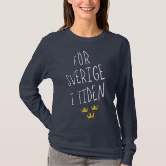 AFör Sverige i Tiden Swedish Motto Tee Shirt