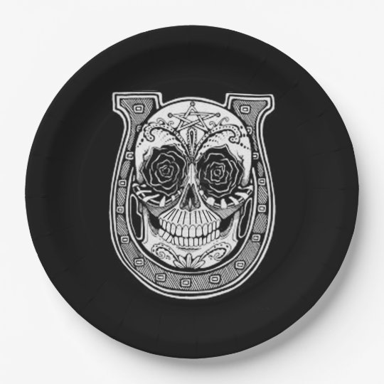 Afortunado DOD Party Paper Plates 9 Inch Paper Plate