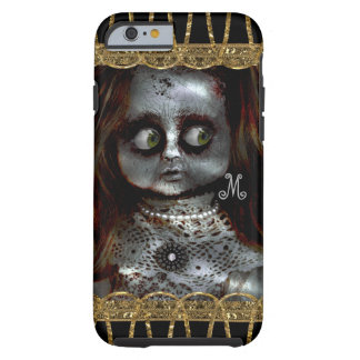 Afraid Doll Scary Goth Monogram Tough iPhone 6 Case
