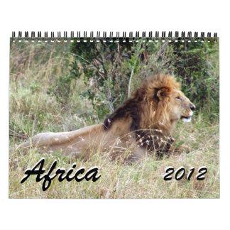africa 2012 calendar