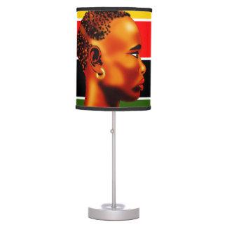 Africa Abajur Desk Lamps
