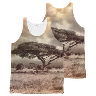 Africa All Over All-Over-Print Tank Top