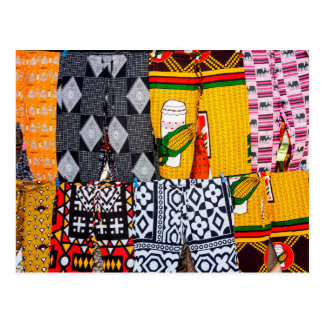 Africa, Angola, Benguela. Brightly Colored Pants Postcard