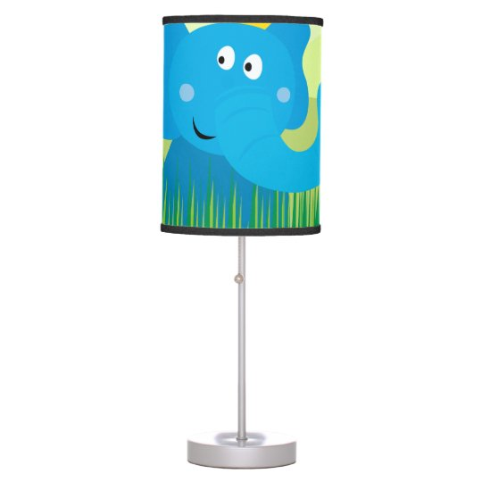 Africa animals : Elephant collection table Lamp