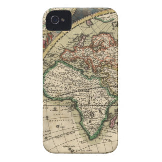 Africa Antique Map iPhone 4 Case-Mate Case