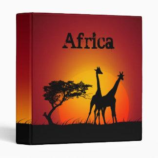 Africa binder