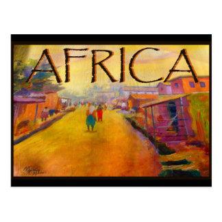 AFRICA BY MOJISOLA A GBADAMOSI OKUBULE POSTCARD