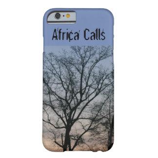 Africa Calls iPhone case