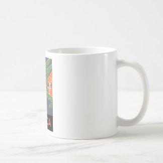 Africa Classic White Coffee Mug