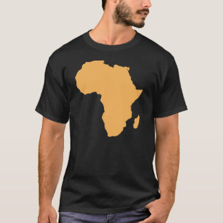 Africa Continent Outline T-Shirt