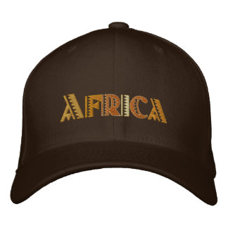 Africa Earth colors baseball cap