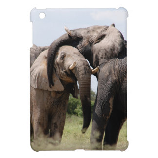 Africa Elephant Family iPad Mini Cases
