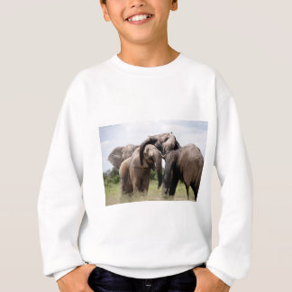 Africa Elephant Family Sweatshirt