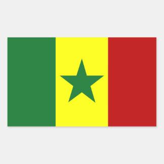 Africa: Flag of Republic of Senegal Sticker