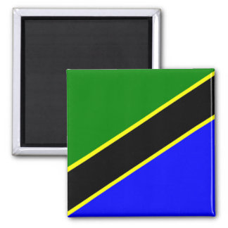Africa: Flag of Tanzania Magnet