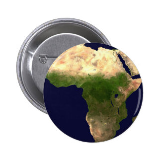 Africa From Space 2 Inch Round Button