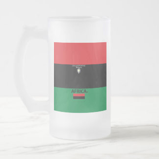 Africa Frosted Mug