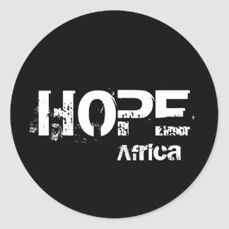 Africa Hope Sticker