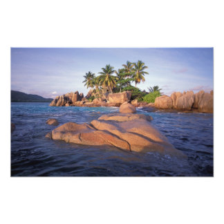 Africa, Indian Ocean, Seychelles, Praslin Photo Print
