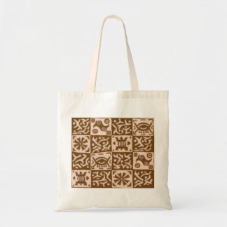 Africa Inspired designs - brown Tote Bag