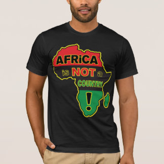 """""""Africa is NOT a Country!"""" RBG Tee"""