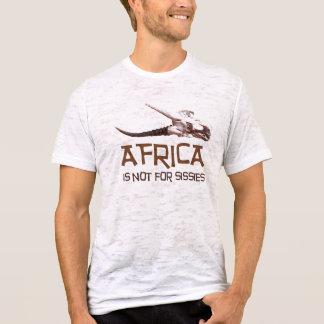 Africa is not for sissies: African Springbok skull T-Shirt