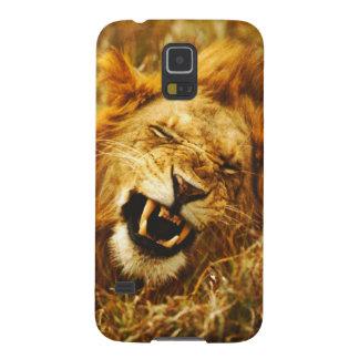Africa, Kenya, Maasai Mara. Male lion. Wild Case For Galaxy S5