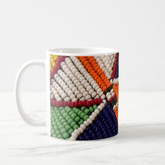 Africa, Kenya. Maasai Tribal Beads Coffee Mug