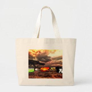 Africa Large Tote Bag