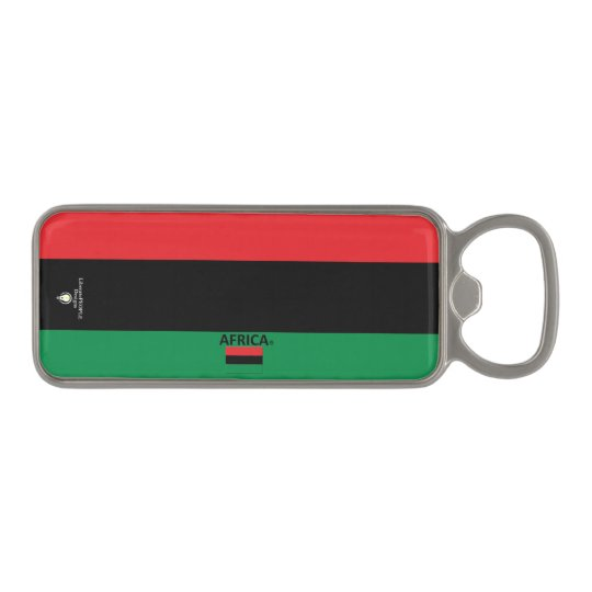 Africa Magnetic Bottle Opener