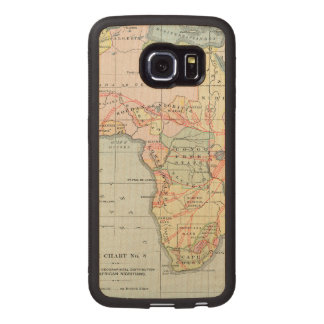 AFRICA: MAP, 1894 WOOD PHONE CASE